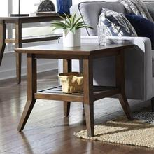 Ventura Boulevards Rectangular End Table