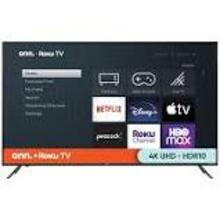 "ONN 65"" Class 4K (2160p) UHD LED Roku Smart TV HDR"