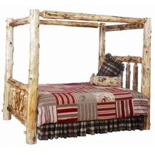 Cedar Canopy Log Bed
