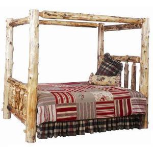 Cedar Canopy Log Bed