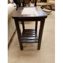 Vaughan-Bassett Chairside Tile Table (LROEND802) Discontinued