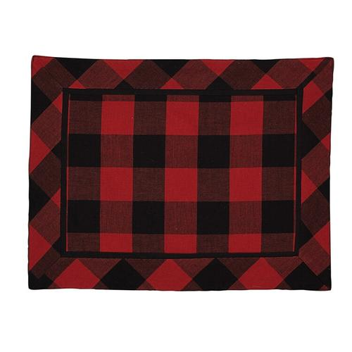 Buffalo Check Bear Placemat