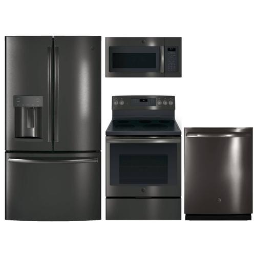 GE Black Stainless Kitchen Suite