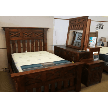 Las Cruces 4 Piece Bedroom Set