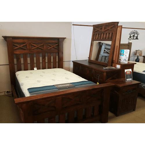 Antigua - Las Cruces 4 Piece Bedroom Set