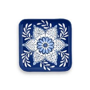 Tarhong - Cobalt Casita Set of 4 Coasters