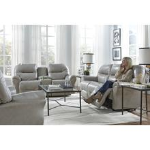 See Details - Bodie Leather Reclining Sofa