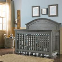 Dolce Babi Lucca Full Panel Convertible Crib - Weathered Finish