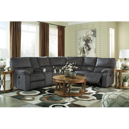 57201 Charcoal Sectional