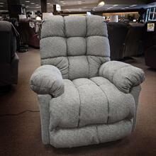 Brosmer Medium Power Rocker Recliner w/Power Headrest (Grey)
