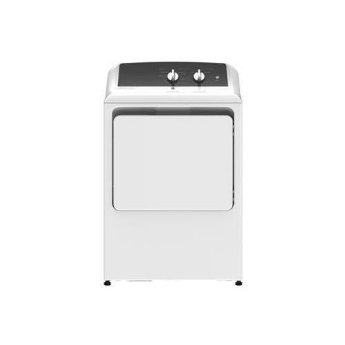 GE Appliances - GE® 6.2 cu. ft. Capacity aluminized alloy drum Electric Dryer