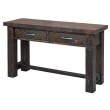 Timber Sofa Table
