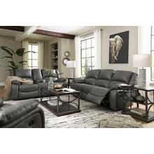 Calderwell Gray Reclining Sofa & Loveseat