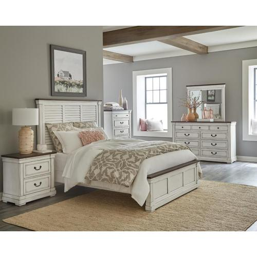 Packages - Hillcrest Qn Bed and 2 Nightstands