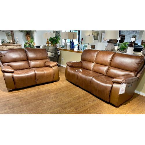 Futura - Leather Power Sofa and Loveseat