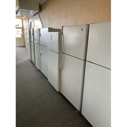 Product Image - Rotating daily selection of White Top Mount Refrigerators.
