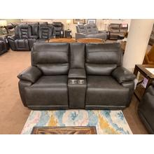 View Product - Horizon Power Reclining Loveseat with Console & Power Headrests
