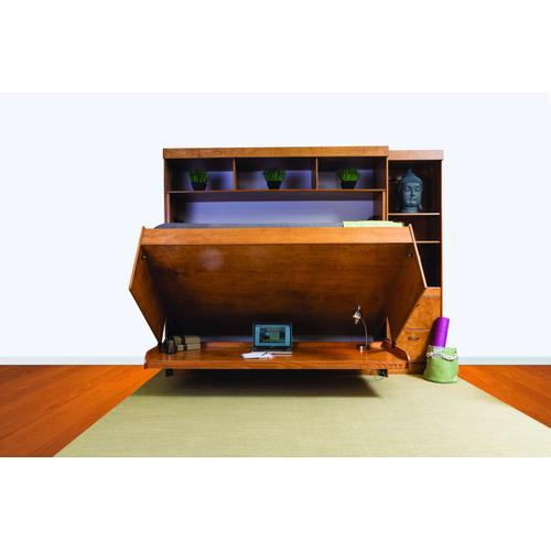 Avalon Hidden Desk Bed with Hutch