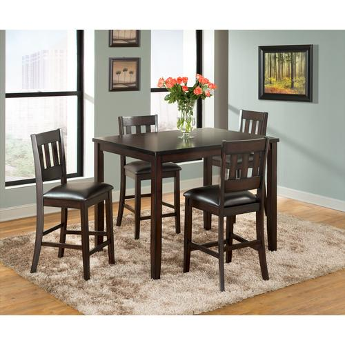 AMERICANO 5PC HIGH DINING SET