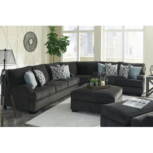 Charenton - Charcoal - Queen Sofa Sleeper, Loveseat & Wedge Sectional