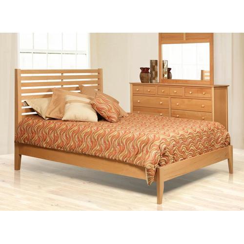 Witmer Furniture - Stratford Bed in Birch Color #54