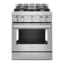 See Details - KitchenAid® 30'' Smart Commercial-Style Gas Range with 4 Burners