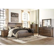 Lakeleigh - Brown - Queen Panel Bed, Dresser, Mirror, 1 X Nightstand