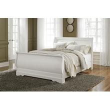 Anarasia - White - Queen Sleigh Bed