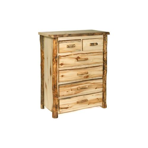 House Lodge Collection - Aspen Split Top 6 Drawer Chest