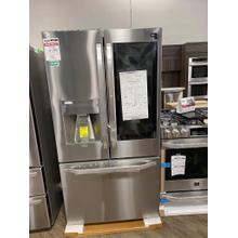 See Details - LG STUDIO 24 cu. ft. Smart wi-fi Enabled InstaView™ Door-in-Door® Counter-Depth Refrigerator with Craft Ice™ Maker