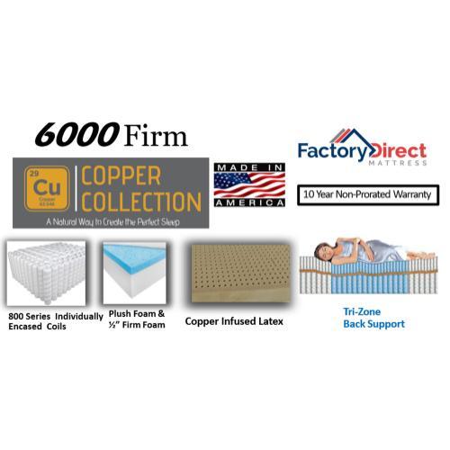 Factory Direct Mattress - 6000 - Firm