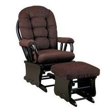 Glider Rocker with Ottoman