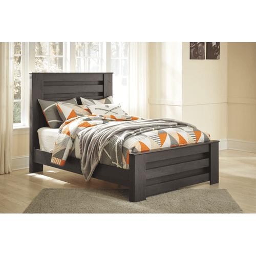 Brinxton- Black- Full Panel Bed