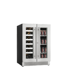 Vinoa Collection - Built-In/Freestanding Beverage Center - 21 Bottles   66 Cans (or 42 Bottles) - Dual Zone