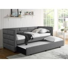 See Details - Flannery Daybed and Trundle Gray