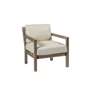 See Details - Club Teak Lounge Chair