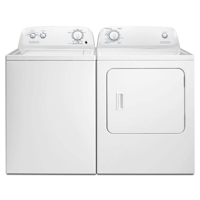 View Product - Crosley 3.5 cu ft Extra Large Capacity Washer & 6.5 cu ft Dryer