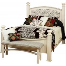 Luellen Fabric Panel Bed