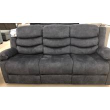 Klaussner Home Furnishings Motion Sofa Hoffman - Yadi Charcoal