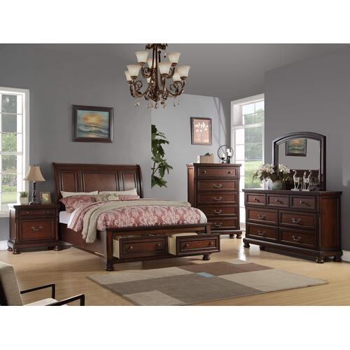 Packages - 4Pc Cal King Bed Set