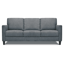 See Details - Leather Sofa in Dark Taupe Leather Color *Matching Loveseat also Available*