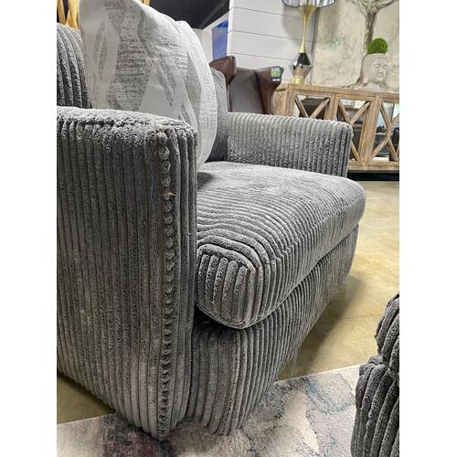 Billow Pewter Chair