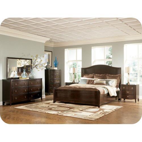 Ashley Furniture - Ashley B747 Ashlyn Bedroom set Houston Texas USA Aztec Furniture