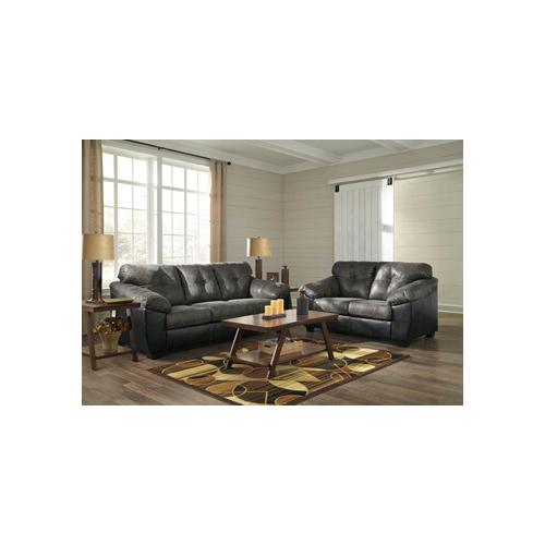 Gregale- Slate Sofa and Loveseat