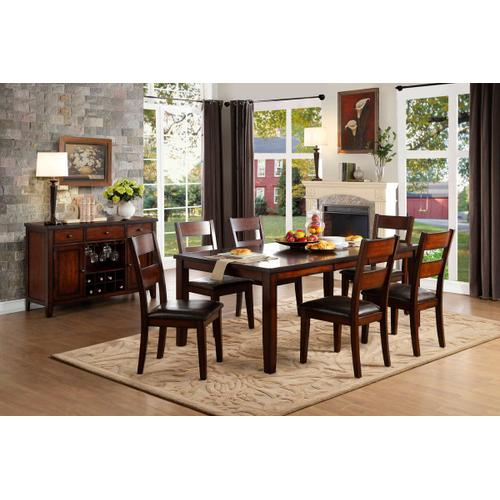 Packages - Mantello 5pc. Dining Room Set