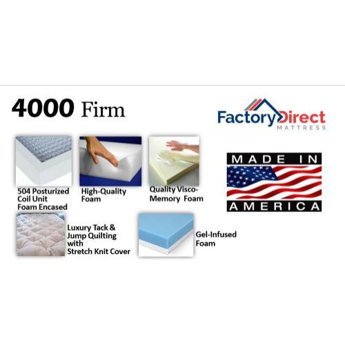 Factory Direct Mattress - 4000 - Firm