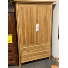 Amish Long Door Armoire