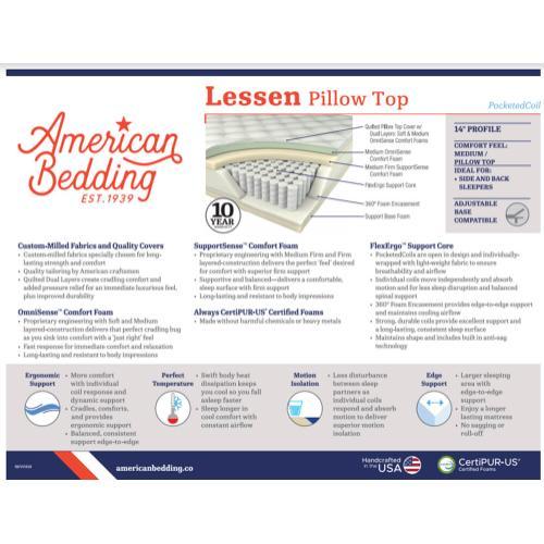 Corsicana - Lassen - Plush - Pillow Top