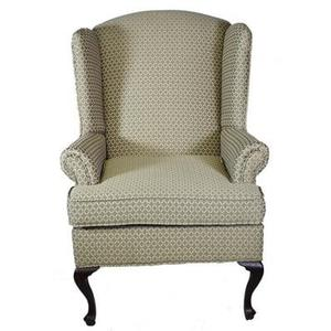 Wing Back Chair - Pewter