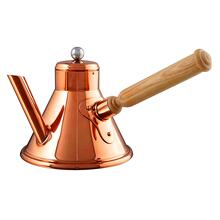 Mauviel M'Tradition Copper Coffee Pot with Hood Handle, 1-Quart